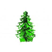 Гирлянда-подвеска Елочка 27*18см ПВХ зеленая