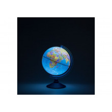 Глобус 25 см политический  Классик Евро с подсветкой (от батареек)
