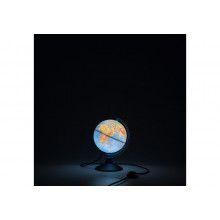 Глобус 15 см  физический  Классик Евро с подсветкой