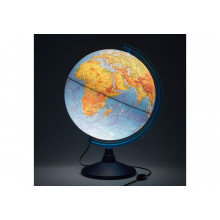 Глобус 40 см физический Классик Евро с подсветкой