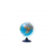 Глобус 25 см политический  Классик евро Рельефный