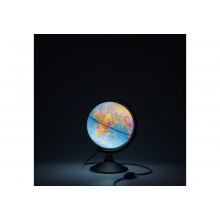 Глобус 21 см политический  Классик с подсветкой