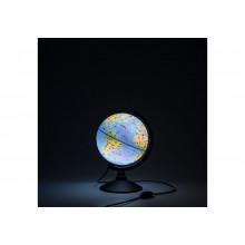Глобус 21 см зоогеографический  Детский с подсветкой