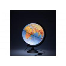 Глобус 32 см физический  Классик с подсветкой