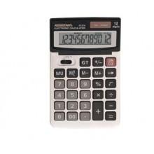 Калькулятор 12разр. двойное питание, металл.168*103*31 мм  АС-2316  Assistant