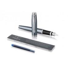 """Набор подар.1 ручка перьевая PARKER """"Light Blue Grey CT"""""""