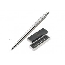 """Набор подар.1 ручка шар.PARKER """"Jotter PREMIUM Stainless Steel DIAGL CT"""" син"""