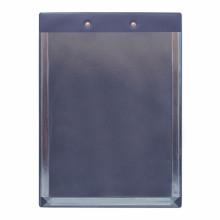 Планшет А4 с расширяющим карманом и прижимом синий ДПС