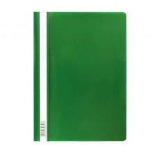 Папка скоросшиватель А4 Semi-Clear Economy зеленый Erich Krause без перфорации