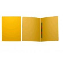 Папка скоросшиватель А4 CLASSIC желтый