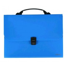 Портфель А4 12 отдел. синий CLASSIC