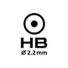 Карандаш графитный Savanna с ластиком  HB ассорти