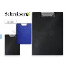 Планшет-папка А4 двойной Schreiber S 4040