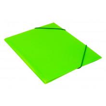 Папка на резинке  А4 30мм 0,5мм салатовый