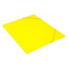 Папка на резинке  А4 30мм 0,5мм желтый