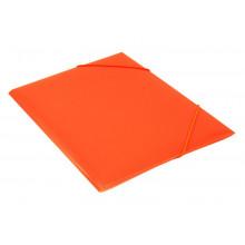 Папка на резинке  А4 30мм 0,5мм оранжевый