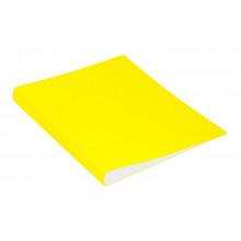 Папка скоросшиватель А4 пластик 0,7мм карман, желтый