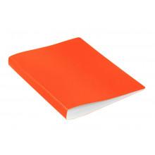 Папка скоросшиватель А4 пластик 0,7мм карман, оранжевый