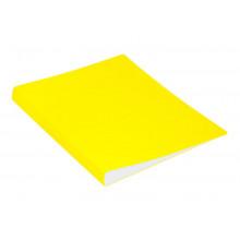 Папка с мет.прижимом А4 0.70мм  желтый