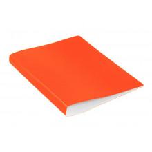 Папка с мет.прижимом А4 0.70мм  оранжевый