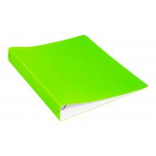 Папка накопитель 4К А4 40мм 0,7мм салатовый