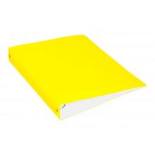 Папка накопитель 4К А4 40мм 0,7мм желтый