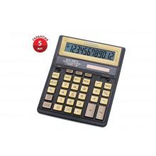 Калькулятор CITIZEN SDC-888TIIGEс золотыми кнопками 12-разрядный