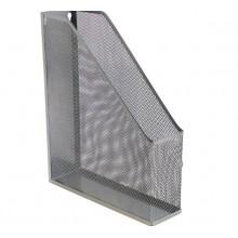 Лоток вертикальный сетка, металл серый