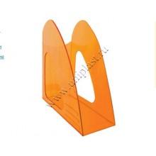 """Лоток вертикальный  """"2000 Luminofor"""" прозрачно-оранжевый"""