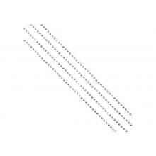 Гирлянда новогодняя БУСЫ с серебряными шариками из полистирола 270см