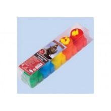 Краски пальчиковые 5цв.ДРАКОНЫ со штампами 20мл Centrum