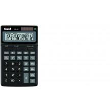 Калькулятор UNIEL настольный средн. UD-41K12 разр 173*106*26 чёрный