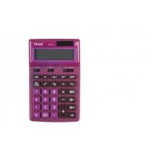Калькулятор UNIEL настольный средн. UD-41PN 12 разр. 173*106*26  розовый