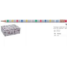 Карандаш графитный KIN 1231  НВ Таблица умножения