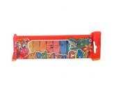 Пластилин 10 цв, 200гр КIN 01315 S в п/э упаковке