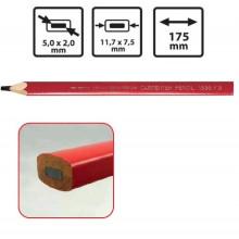 Карандаш графитный KIN 1536 плотницкий CARPENTER