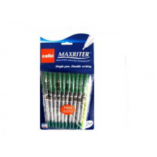 Ручка Maxriter зеленая 727+1