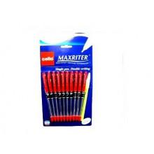 Ручка Maxriter красная 727+1