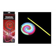 Игра Леденец флуоресцентный 28*11,2см, пластик, краска флуорисцентная