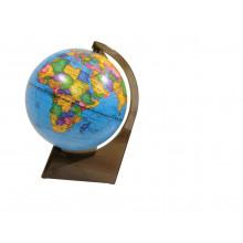 """Глобус 21 см политический """"Глобусный мир"""" на треугольной подставке"""