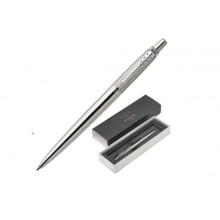 "Набор подар.1 ручка шар.PARKER ""Jotter PREMIUM Stainless Steel DIAGL CT"" син"