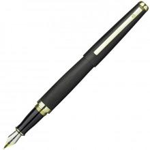 Набор подар.1 ручка перьевая FLAVIO FERRUCCI  METALLICO, матовый лак чер.цв. син.