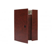 Планшет-папка А5 коричнев. ДПС