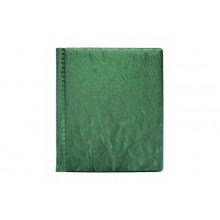 Визитница на 48 карточек зеленая ДПС