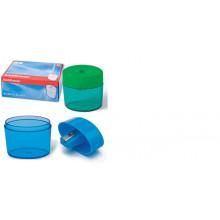 Точилка пласт. 1 отверстие, контейнер  SMART&SHARP