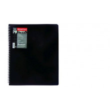 Дисплей книга А4 30ф  DIAMOND черн. 0,55мм+0,03мм