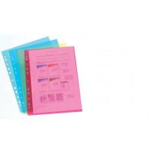 Файлы А4 цветной Cystal Blue Heavy-Duty (10шт) син