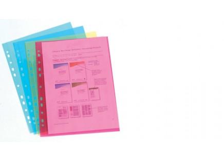 Файлы А4 цветной Cystal Green Heavy-Duty (10шт) зел.