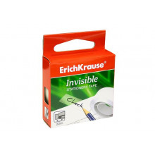 Скотч 12мм*20м Invisible невидимая, матовая в карт. коробочке