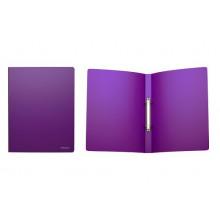 Папка накопитель 2НК 24мм CLASSIC фиолетовая